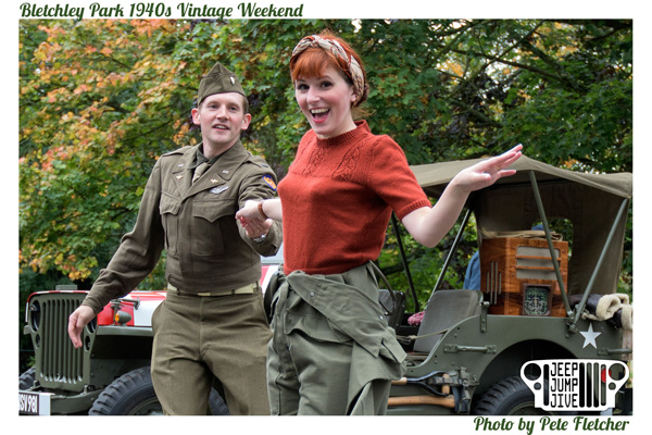 Bletchley Park 1940s Vintage Weekend 2017