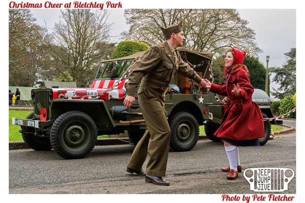 Bletchley Park\'s Christmas Cheer with Jeep Jump Jive