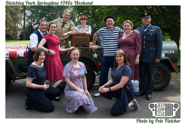 Bletchley Park Springtime 1940s Weekend