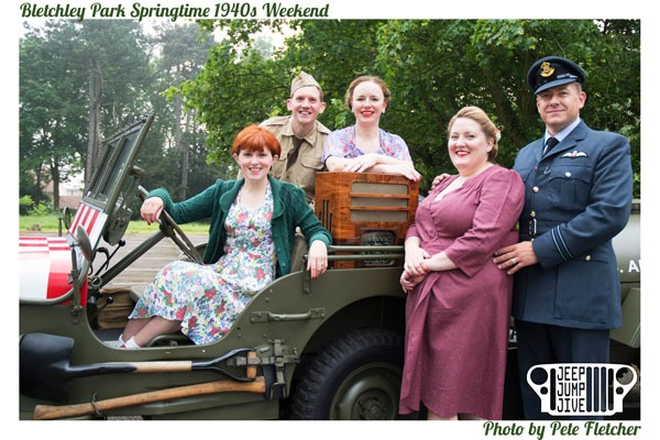 Bletchley Park Springtime 1940s Weekend 2018