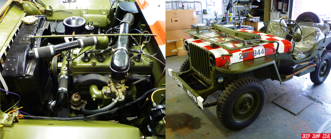 Jeep Jump Jive - Restoration of our WW2 1942 Ford Willys Jeep