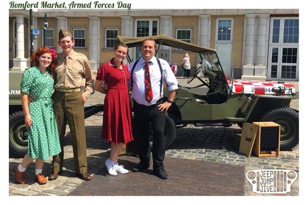 Romford Market Armed Forces Day 2019
