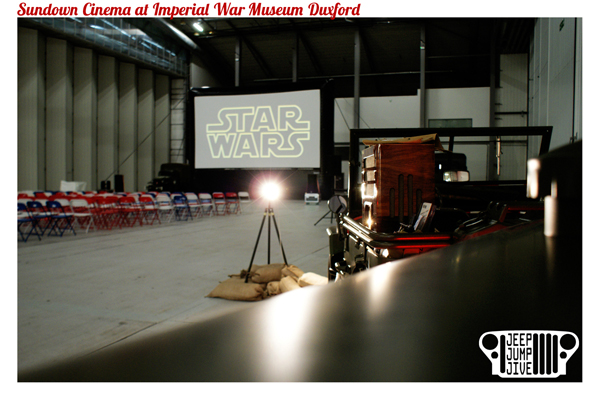 Sundown Cinema at Imperial War Museum Duxford 2017