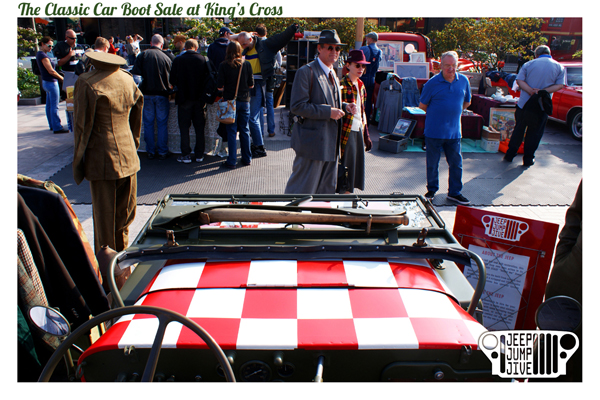 The Classic Car Boot Sale at King's Cross 2015