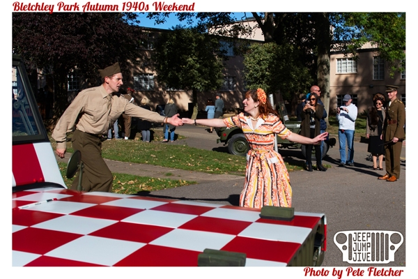 Bletchley Park Autumn 1940s Weekend 2018